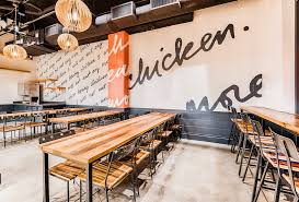 Fast Casual Restaurant Interior Design This New Fast Casual Restaurant Wants To Save You From The Garbage