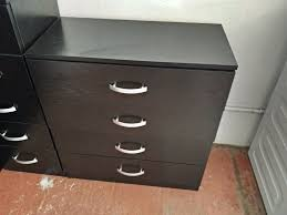 Asda Filing Cabinet with 3 Door Wardrobe 2x Chest Of Drawers Bedside Cabinet Asda
