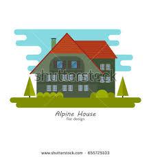 House Flat Design Set Four Cartoon Girls Making Cleaning Stock Vector 391374451