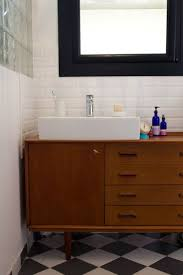 Mid Century Modern Bathroom Vanity Sick Of Home Depot I Like This Idea Of Transforming A Mid Century