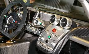 pagani interior pagani zonda instrument panel and steering wheel photo interior