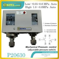 mechanical autoreset dual pressure controls for start or stop air