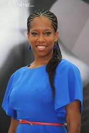 black women braided hairstyles 2012 poetic braids glamorous look for long extensions back view