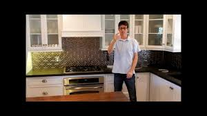 led kitchen strip lights how to install under cabinet over counter led strip lighting youtube