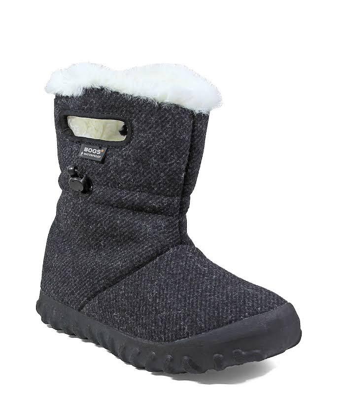 Bogs B Moc Wool Black Medium 8 72106-001-M-