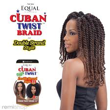 cuban twist hair equal sng cuban twist 12 color 2 synthetic braiding