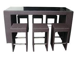 Wicker Style Outdoor Furniture by Pub Style Patio Furniture Bar Style Outdoor Furniture Tall Patio