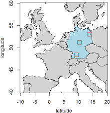 red light center download figure 1 location of the study sites red squares within germany