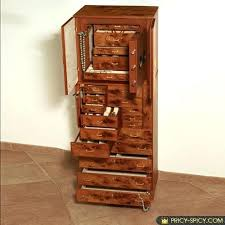 jewelry armoire plans elegant jewelry cabinets with lockable doors throughout locked