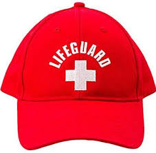 Lifeguard Halloween Costume Lifeguard Visor White Costume Lifeguard Costumes