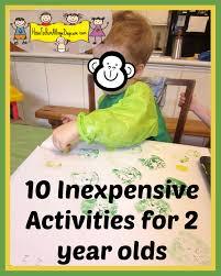 ten inexpensive activities for two year olds activities kid
