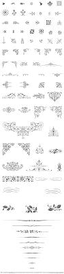 vintage ornament craftsmanspace design type