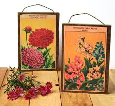 vintage seed packets free printable vintage seed packets wall decor