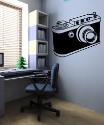 vinyl wall decal sticker camera os mb419