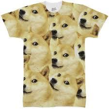 Doge Meme T Shirt - doge meme all over t shirt inct apparel