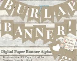 burlap thanksgiving banner burlap banners etsy