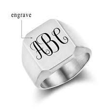 Initials Ring Initial Ring Ebay