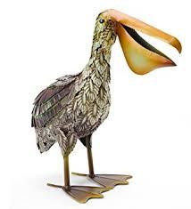 pete the pelican metal garden decor garden outdoor
