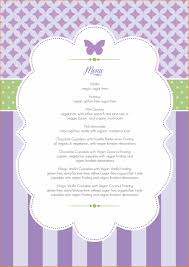 baby baby shower menu template shower menu template wedding photo