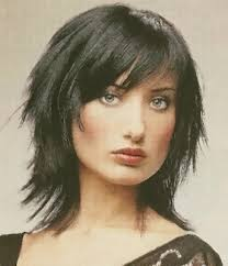 celebrity hairstyle and beauty short trendy shag haircut styles