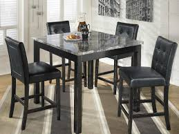 square pub table with storage ashley d154 223 maysville square pub table set seaboard bedding