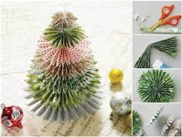 creative ideas diy festive paper tree