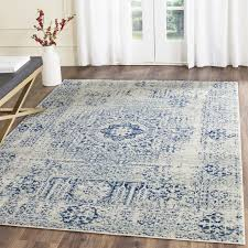 Gray Blue Area Rug Picturesque Ivory And Blue Area Rugs Of Willa Arlo Interiors Huma