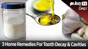 Home Tricks 3 Home Remedies For Tooth Decay U0026 Cavities Pulse Daily Youtube
