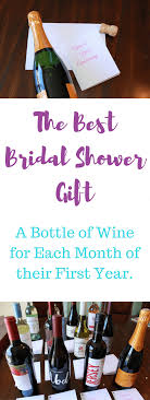 best wedding shower gifts best bridal shower gift everyone will wine in