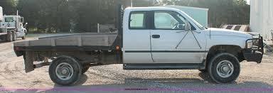 1995 dodge ram 2500 club cab slt 1995 dodge ram 2500 st club cab flatbed truck item i8094
