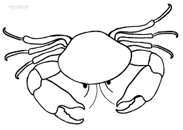 Printable Crab Coloring Pages For Kids Cool2bkids Crab Coloring Page