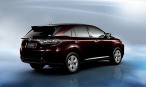 toyota new model car toyota harrier specs 2014 2015 2016 2017 autoevolution