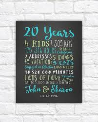 parents anniversary gift ideas 20th anniversary gift 20 year wedding anniversary anniversary