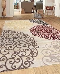 Area Rugs Contemporary Modern Rugshop Contemporary Modern Floral Indoor Soft Area