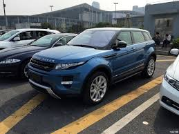 land rover chinese china made range rover evoque spotted ahead of world debut