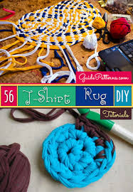 How To Make A Rag Rug From T Shirts 56 T Shirt Rug Diy Tutorials Guide Patterns