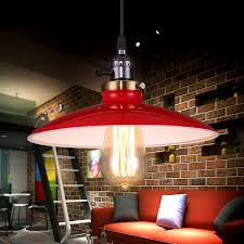 Industrial Pendant Light Shade by Online Get Cheap Light Shade Red Aliexpress Com Alibaba Group