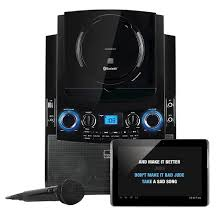 target black friday commercial 2012 singers the singing machine bluetooth karaoke system for ipad black
