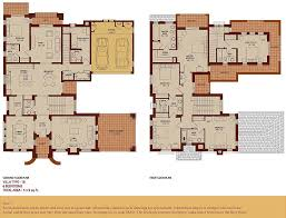 six bedroom floor plans arabian ranches communities