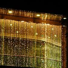 Curtain Lights Amazon by Kk Light 4m X 3m 400 Led Indoor Outdoor Led Curtain Light For