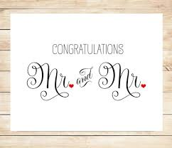 congratulations marriage card printable mr and mr wedding card marriage wedding card