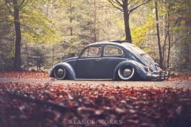 old volkswagen volvo rick tolboom u0027s bagged 1959 volkswagen beetle stanceworks car