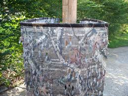 Tree Trunk Hunting Blind Smith Hunting Blinds Offer Tri Blind In Mossy Oak