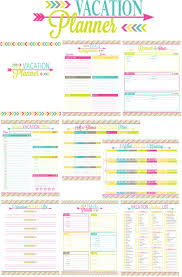 trip planner templates vacation planner templates franklinfire co