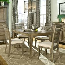 5 piece dining room sets 5 piece dining set with leg table and slat back side chairs by