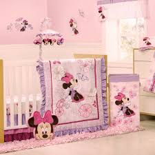 Crib Bedding Set Minnie Mouse Disney Bedding Sets Minnie Mouse Butterfly Dreams 4 Baby