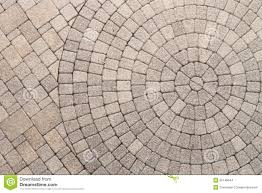 Patio Paver Patterns by Circle Design Pattern In Patio Paving Stock Photo Image 55148644