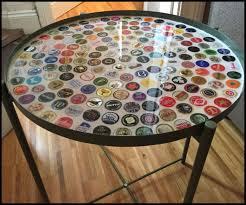bottle cap table designs beer bottle cap coffee table ikea lovely 25 unique bottle cap table