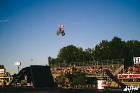 freestyle motocross shows event gatebil sweden 2014 mixing pleasure with pleasure