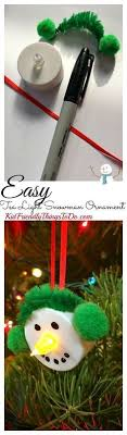 button ornament craft for